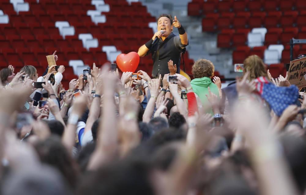 Así fue el concierto de Bruce Springsteen en Gijón