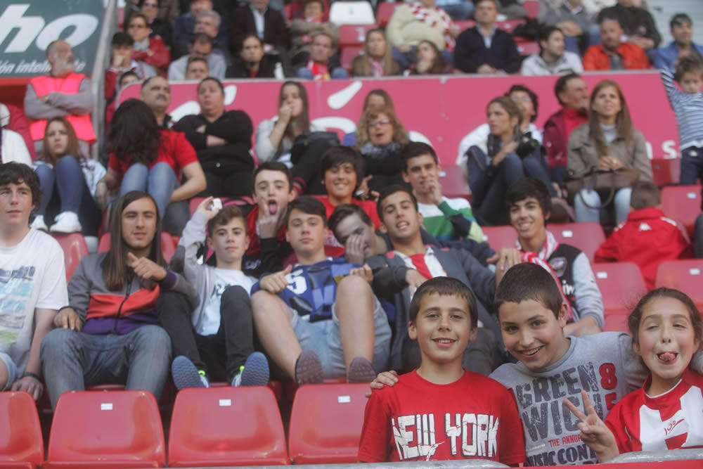 ¿Estuviste en el Sporting-Recreativo? ¡Búscate!