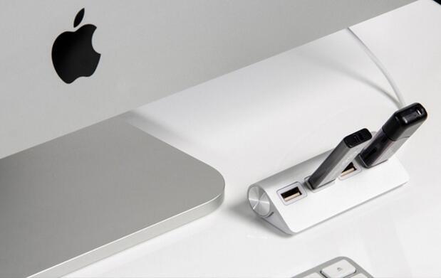 USB Hub de aluminio con 4 puertos