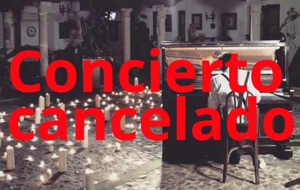 ¡CANCELADO! Concierto 1 piano y 200 velas