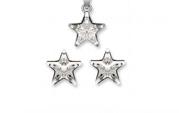 Conjunto Estrella made with Swarovski elements