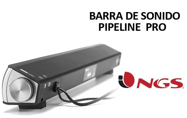 Barra de Sonido NGS Pipeline Pro