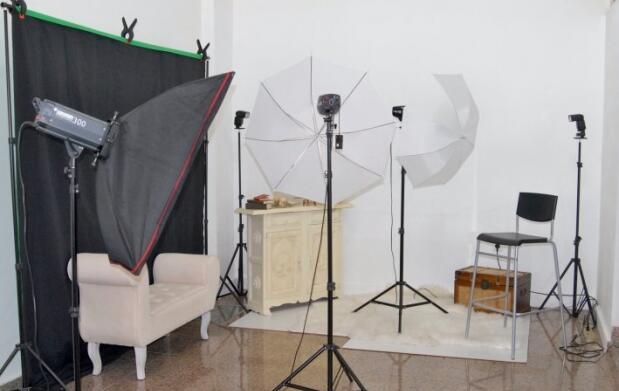 Sesión fotografía de estudio con diferentes opciones
