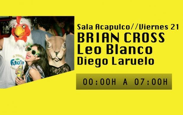 Clubbing Music Session con Brian Cross