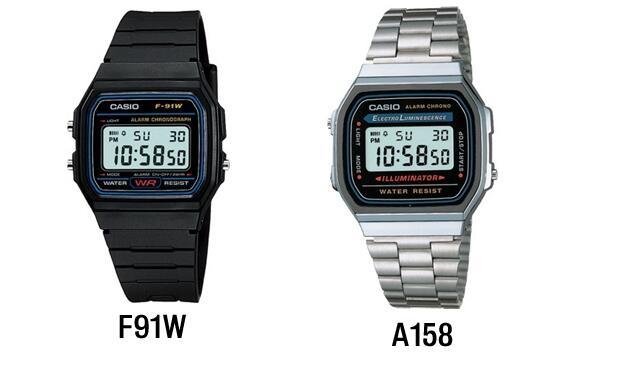 Vuelven los relojes Casio, elige el tuyo