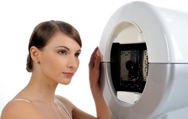 Diagnóstico y sesión de láser facial