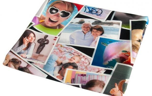 Manta personalizada con tus fotos favoritas