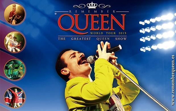Entradas VIP Remember Queen
