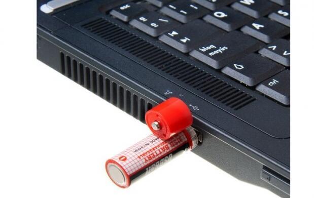 Pila recargable con conector USB