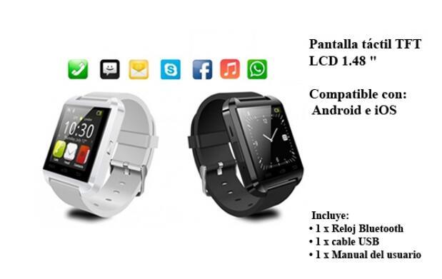 SmartWatch: Bluetooth y Pantalla Táctil