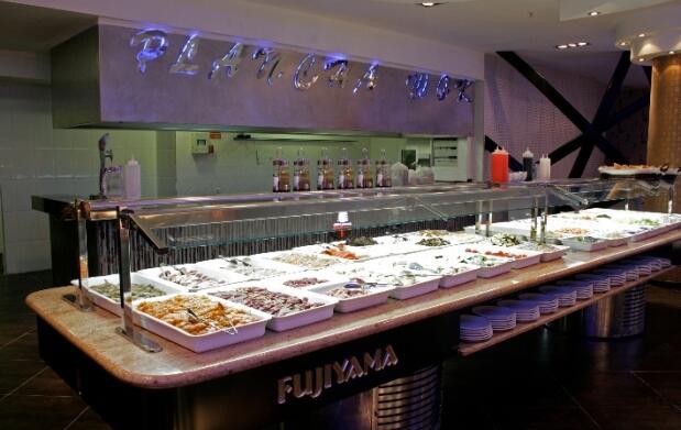 Buffet libre oriental