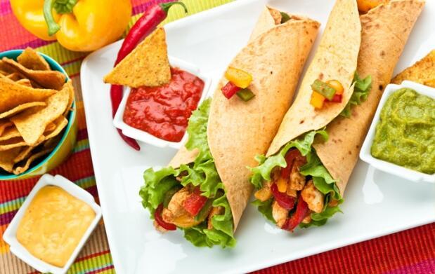 Menú mexicano para 2