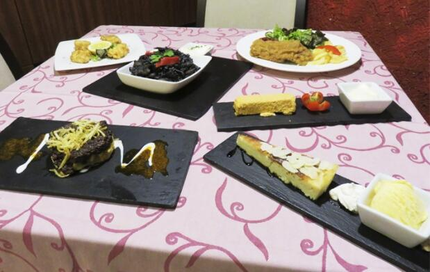 Menú especial para dos en La Tasca de Cabrales