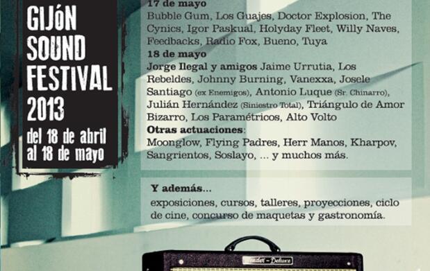 Abono Gijón Sound Festival 2013