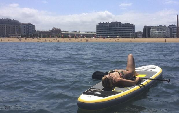 Bautismo Stand Up paddle con reportaje fotográfico