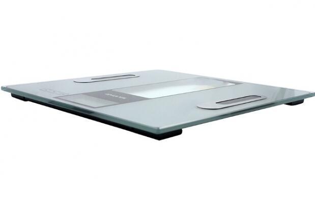 Báscula baño LCD con medición de grasa