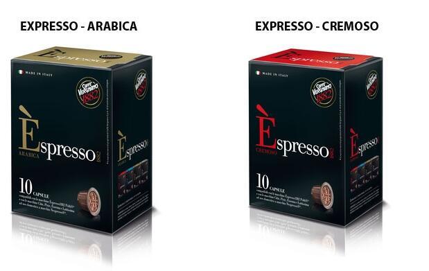 120 cápsulas de café expresso ®*
