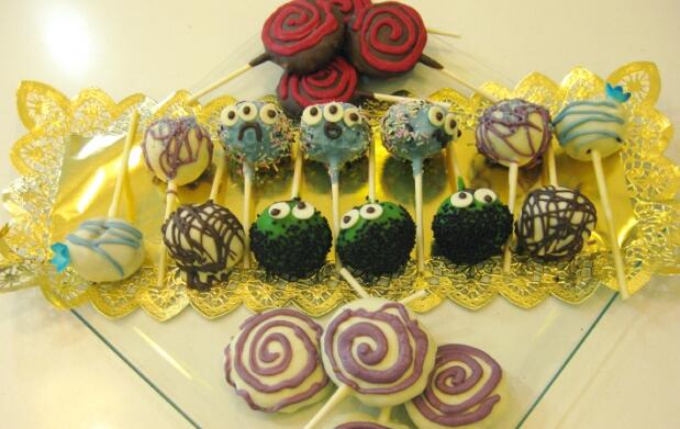 Curso elaboración de pop-cakes para niños y adultos