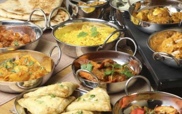 Menú hindú: vegetariano o tradicional