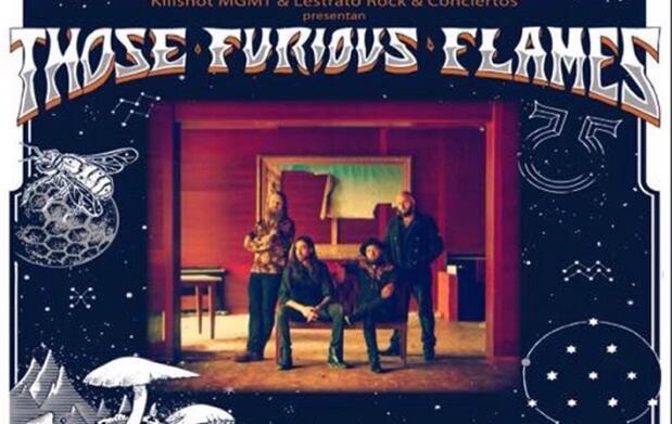 Entrada concierto Those Furious Flames
