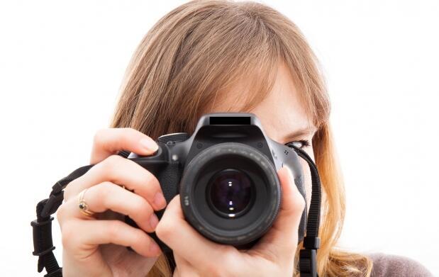 Fotografía digital con cámara reflex