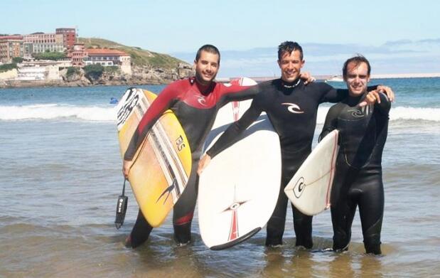 Clases de surf y reportaje fotográfico