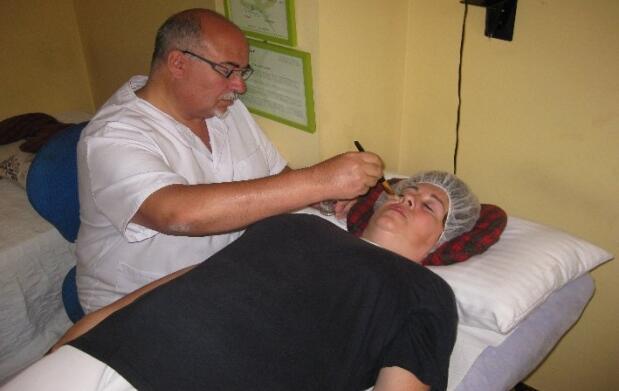 Tratamiento facial de células madre