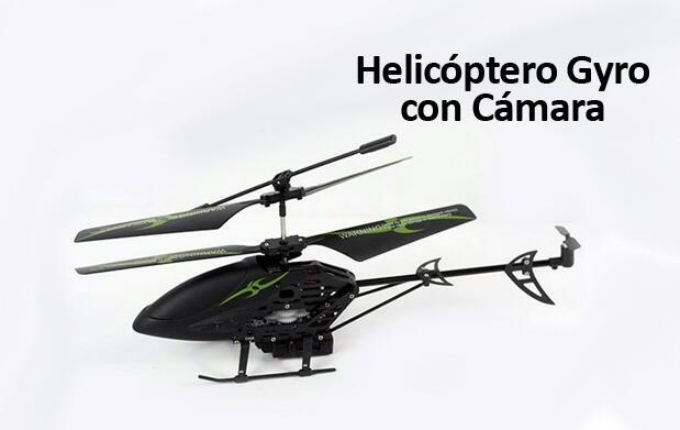 Helicóptero Gyro Con Cámara