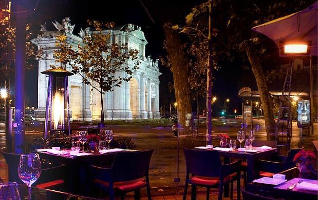 Madrid 5 estrellas: noche con cena y spa para 2