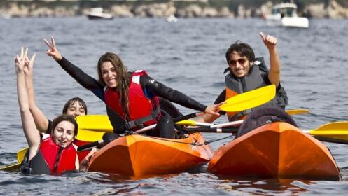 Ruta en Kayak o paseo en lancha motora