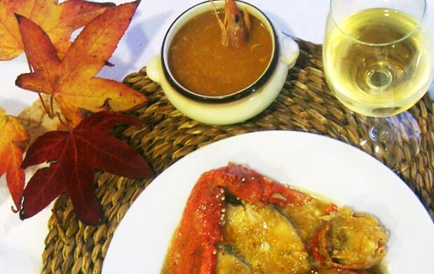 Menú especial pescados y mariscos para 2