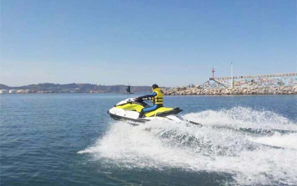 Ruta en moto de agua para 1 ó 2 personas