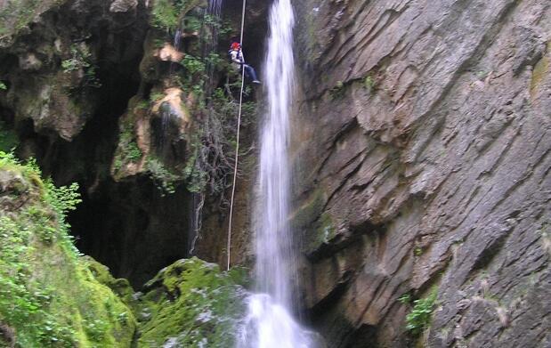 Alojamiento y descenso de Valporquero (León)
