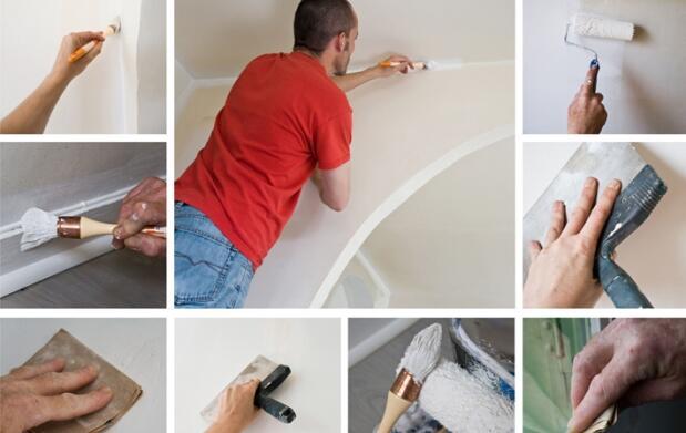 Pinta tu casa: 2 capas de pintura en paredes y techos