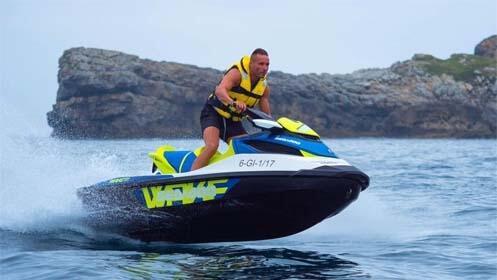 Ruta en moto de agua para 1 o 2 personas