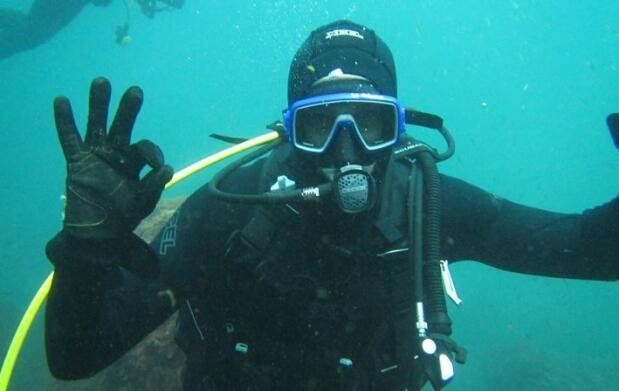 Bautismo submarinismo o curso B1E