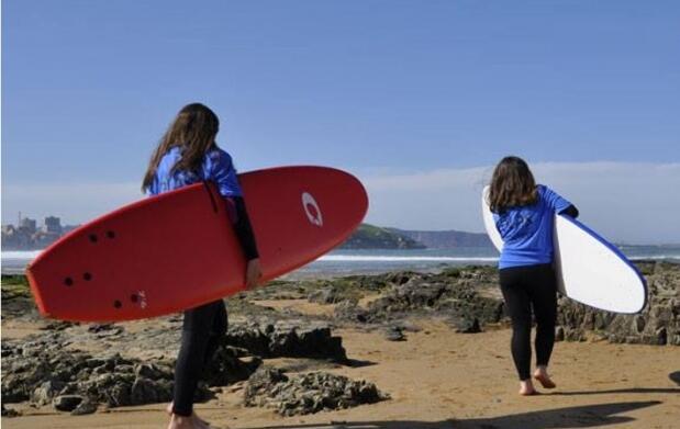 Bautismo de surf o campamento