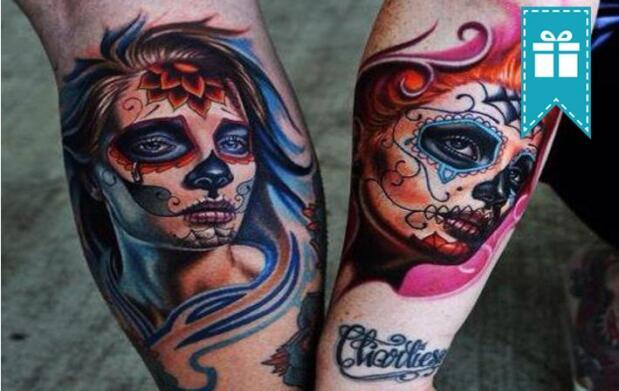 Tatuaje a color o negro