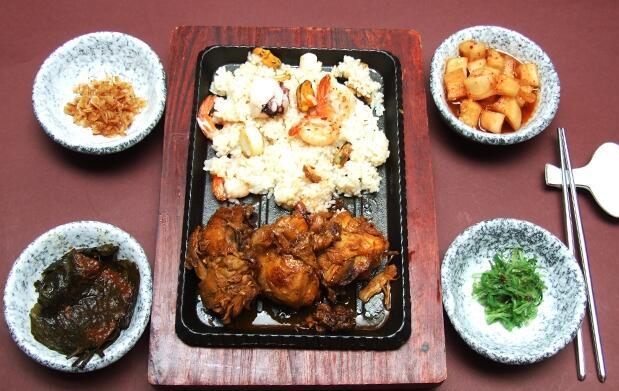 Menú asiático para 2