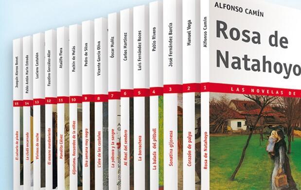Las novelas de Gijón
