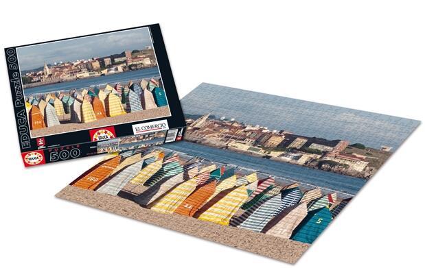 Puzzle exclusivo de Gijón