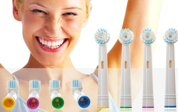 8 recambios compatibles con Oral B