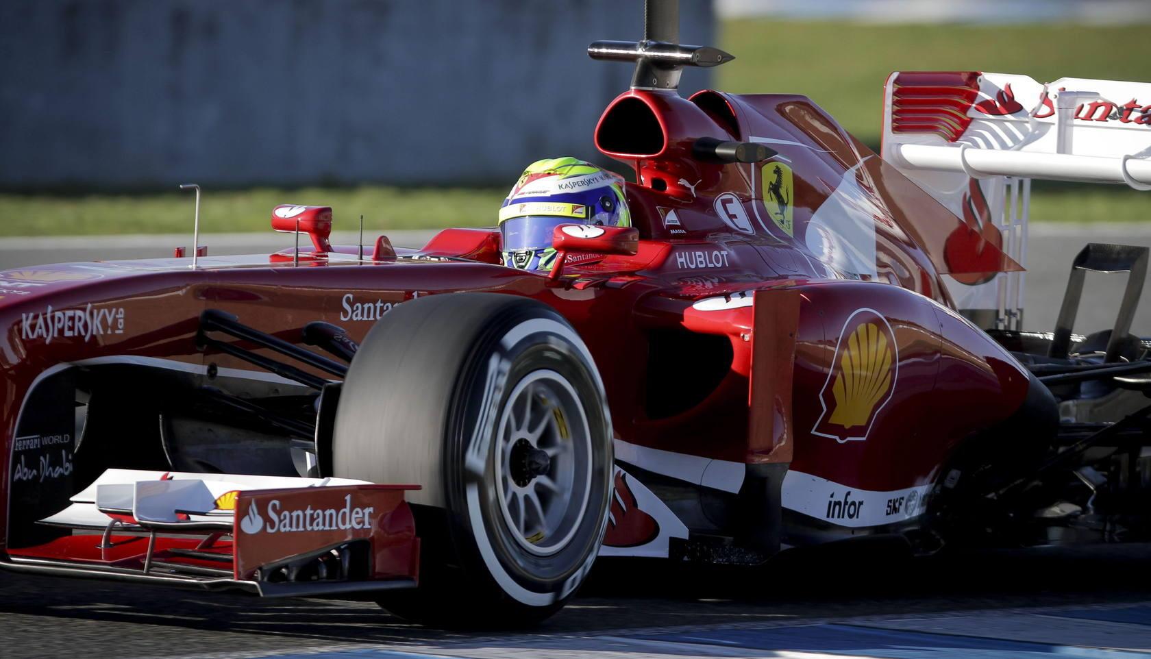 Ferrari enciende sus motores en Jerez