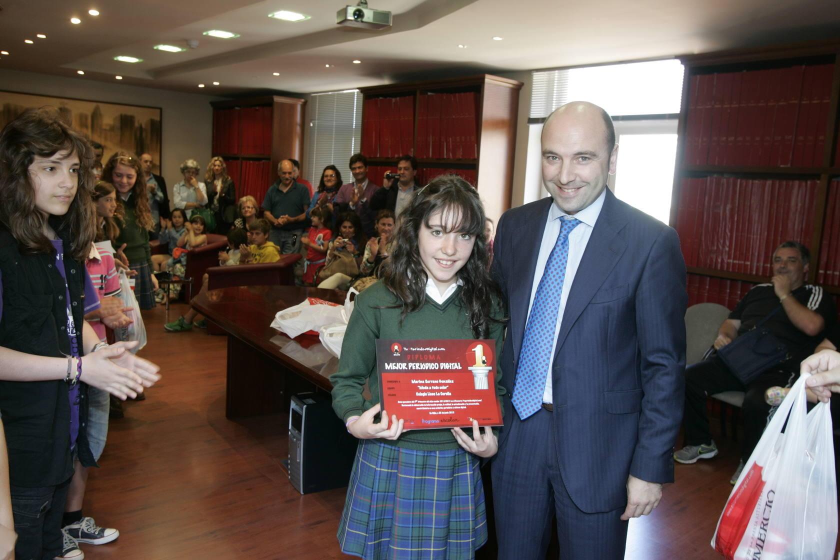 Tu periódico digital: entrega de premios curso 2012/13