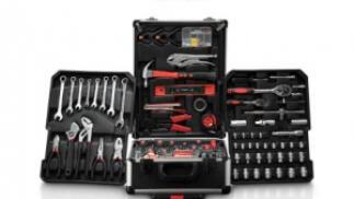 Caja de herramientas con ruedas profesional, 186 piezas