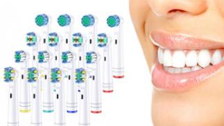 Pack 16 o 32 recambios compatibles con cepillos Oral B