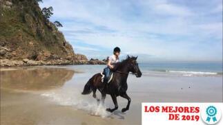 Ruta a caballo y menú casero en restaurante
