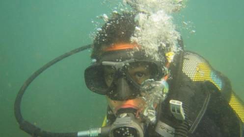 Bautismo de buceo en el mar para 2 personas