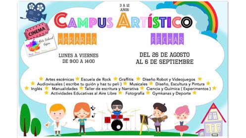 Campus de verano en Arts School Gijón