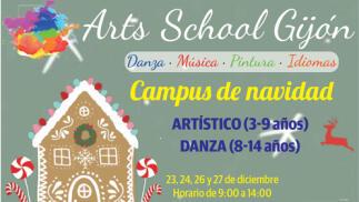 Campus de Navidad en Arts School